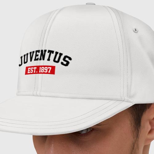 Кепка снепбек с прямым козырьком FC Juventus Est. 1897