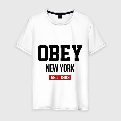 Мужская футболка хлопок Obey Est. 1989