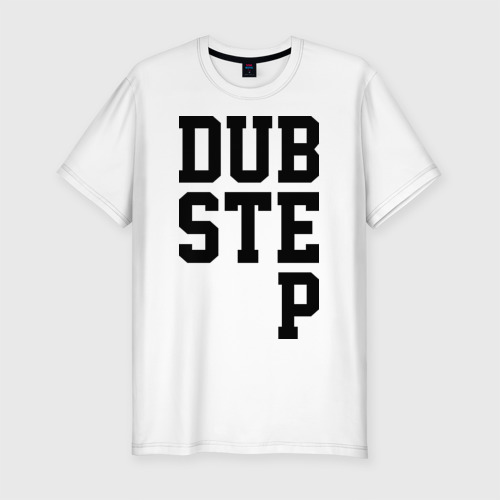 Мужская футболка хлопок Slim DubStep Lines
