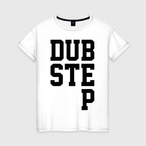 Женская футболка хлопок DubStep Lines
