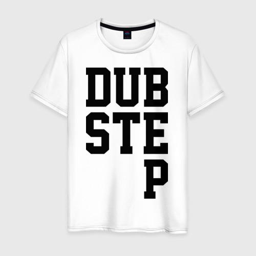 Мужская футболка хлопок DubStep Lines