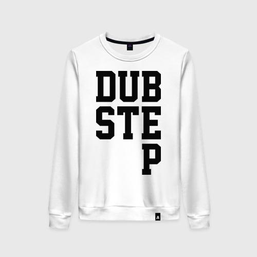 Женский свитшот хлопок DubStep Lines