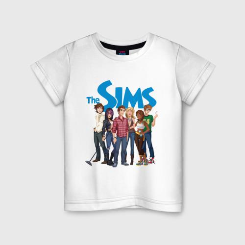 Детская футболка хлопок The Sims heroes