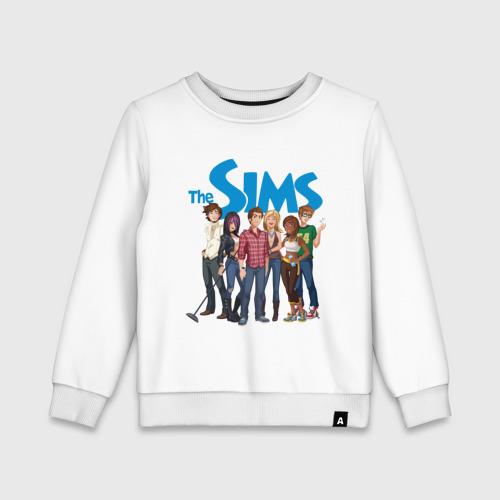 Детский свитшот хлопок The Sims heroes
