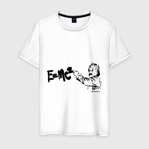 Мужская футболка хлопок EMC2