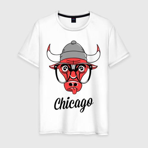 Мужская футболка хлопок Chicago swag
