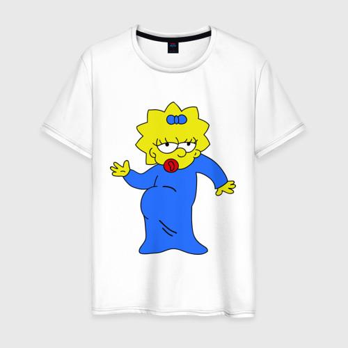 Мужская футболка хлопок Мэгги танцует
