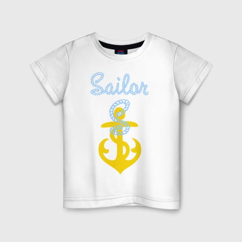 Детская футболка хлопок Sailor