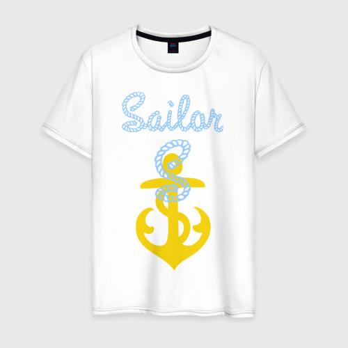 Мужская футболка хлопок Sailor