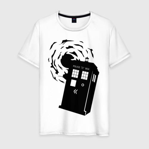 Мужская футболка хлопок tardis 1