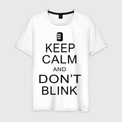 Мужская футболка хлопок Don't blink