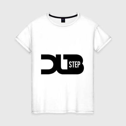 Женская футболка хлопок DJ DubStep