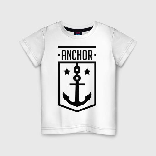 Детская футболка хлопок Anchor Shield