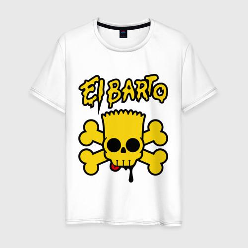 Мужская футболка хлопок El Barto