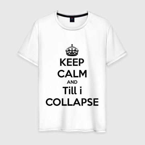 Мужская футболка хлопок Till i collapse