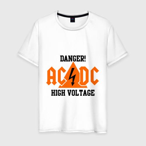 Мужская футболка хлопок ADCD high voltage