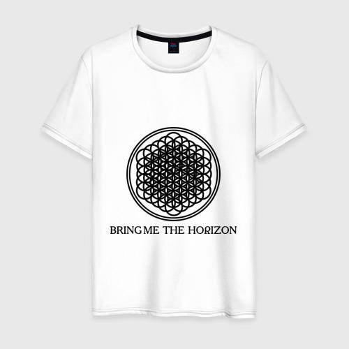 Мужская футболка хлопок Bring me the horizon
