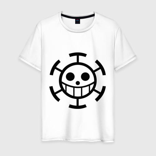 Мужская футболка хлопок Один кусок