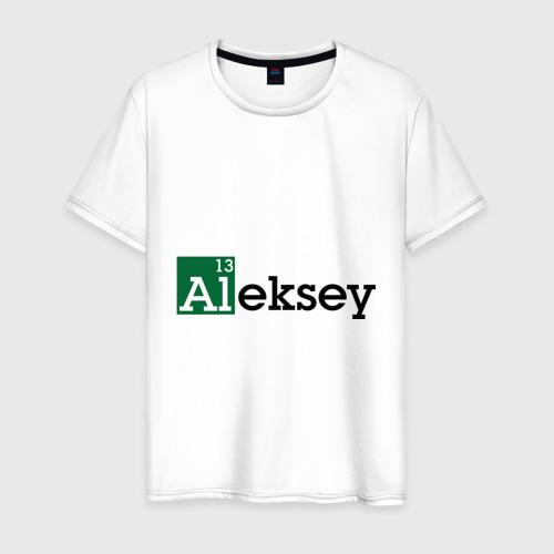 Мужская футболка хлопок Aleksey