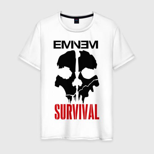 Мужская футболка хлопок Eminem - Survival
