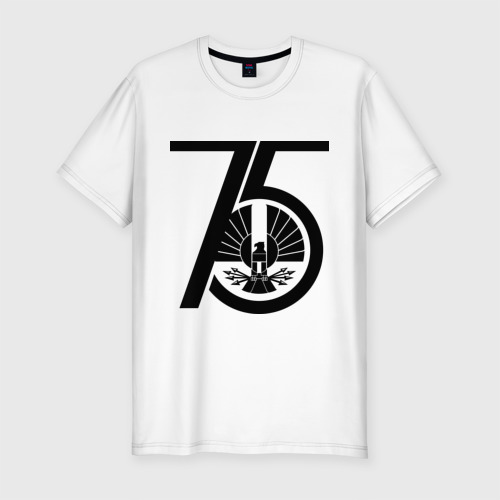 Мужская футболка хлопок Slim Голодные игры