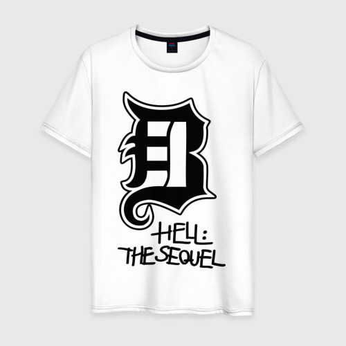 Мужская футболка хлопок Hell - the sequel