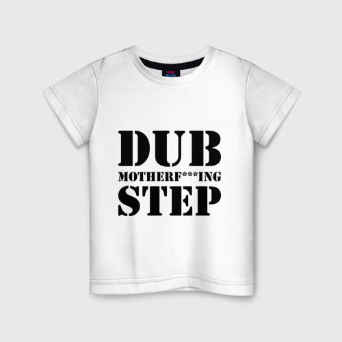 Детская футболка хлопок Motherf***ing Dubstep