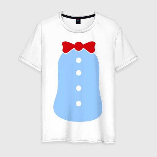 Мужская футболка хлопок Костюм Пингвина