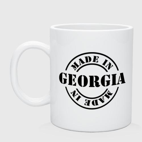 Кружка керамическая Made in Georgia (сделано в Грузии)