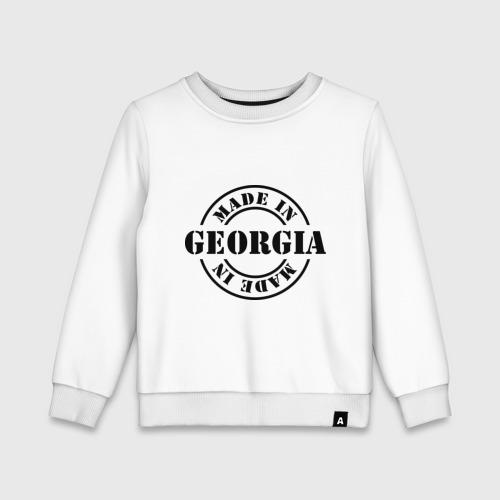 Детский свитшот хлопок Made in Georgia (сделано в Грузии)