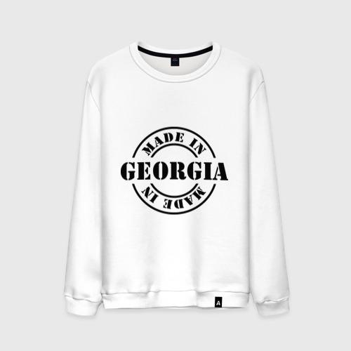 Мужской свитшот хлопок Made in Georgia (сделано в Грузии)