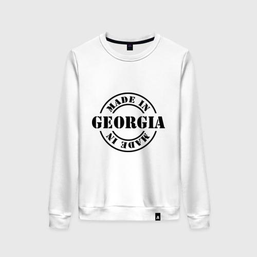 Женский свитшот хлопок Made in Georgia (сделано в Грузии)