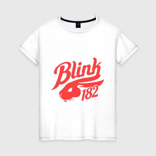 Женская футболка хлопок blink 182