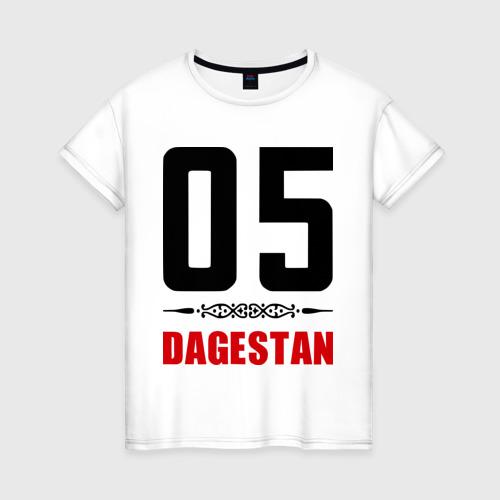 Женская футболка хлопок 05 Дагестан