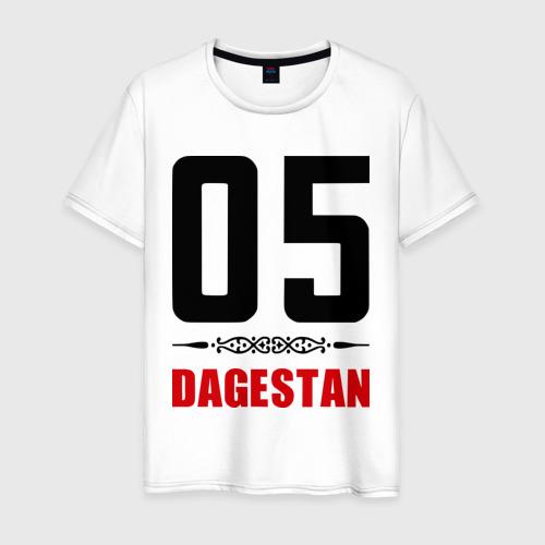 Мужская футболка хлопок 05 Дагестан