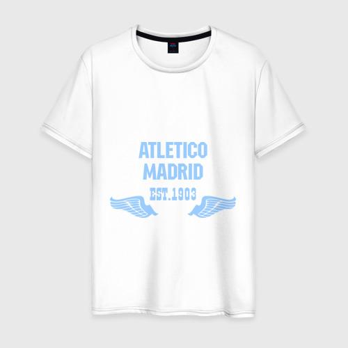 Мужская футболка хлопок Atletico Madrid (Атлетико Мадрид)