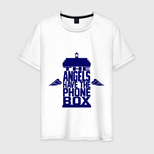 Мужская футболка хлопок The angels have the phone box