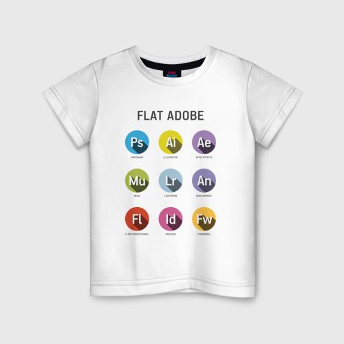 Детская футболка хлопок Flat Adobe