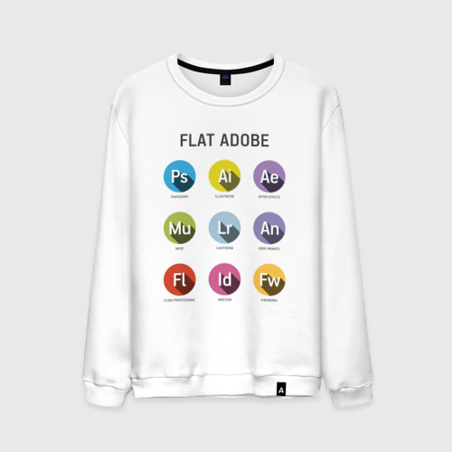 Мужской свитшот хлопок Flat Adobe
