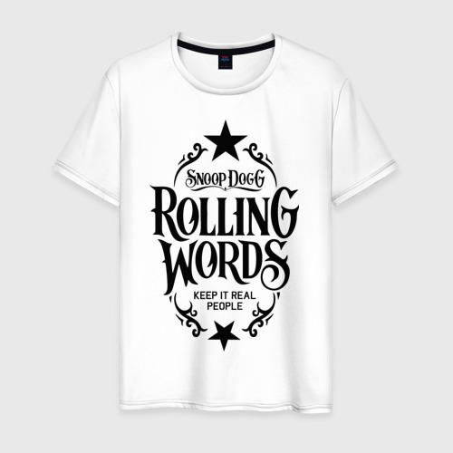 Мужская футболка хлопок Snoop Dogg Снуп Дог Rap