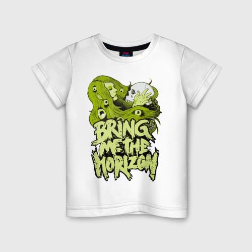 Детская футболка хлопок Bring me the horizon girl