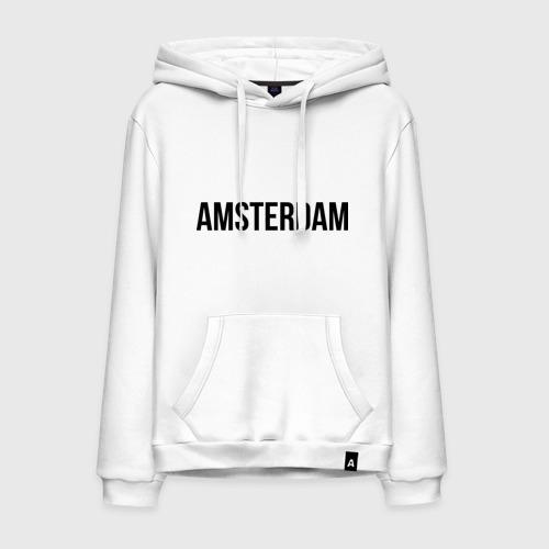 Мужская толстовка хлопок Amsterdam