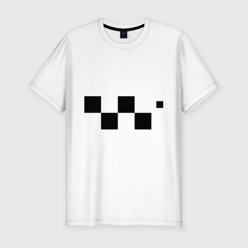 Мужская футболка хлопок Slim Сочинский таксист