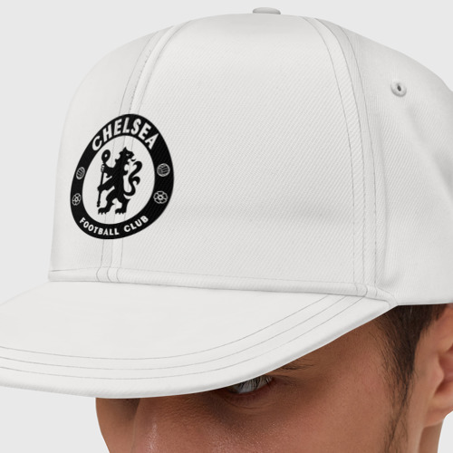 Кепка снепбек с прямым козырьком Chelsea logo