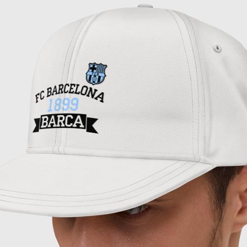 Кепка снепбек с прямым козырьком Barca