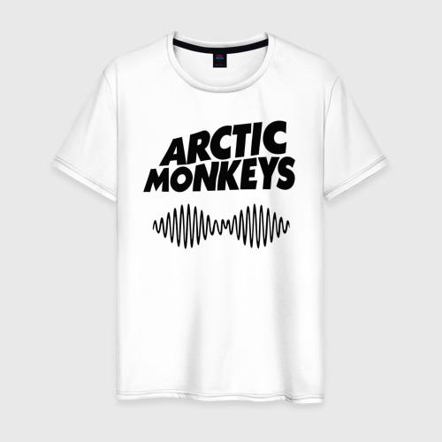 Мужская футболка хлопок Arctic monkeys wave