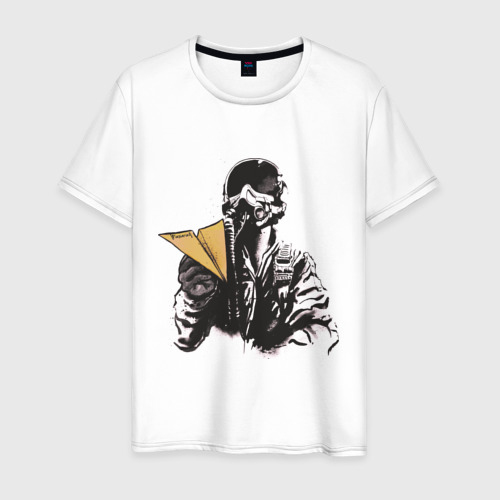 Мужская футболка хлопок Пилот
