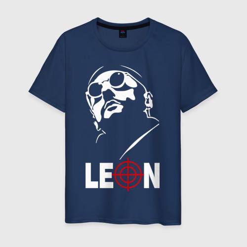 Мужская футболка хлопок Leon