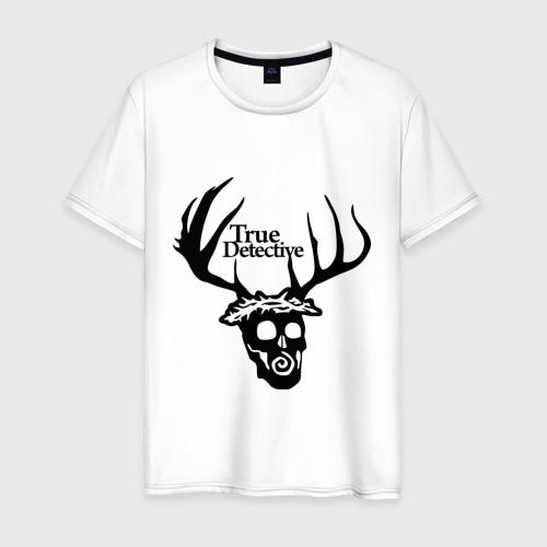 Мужская футболка хлопок True Detective