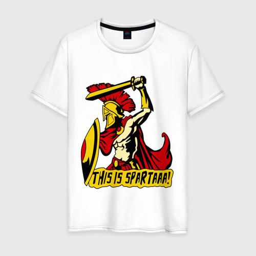 Мужская футболка хлопок Это Спартааа!